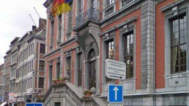 L'Hôtel de Ville de Liège.