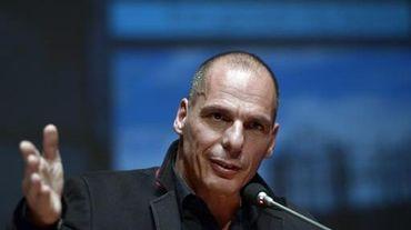 L'économiste Yanis Varoufakis, le 16 janvier 2015 à Athènes