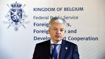 Didier Reynders, ministre des Affaires étrangères