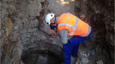 Les archéologues de la Région wallonne bientôt de retour au Grognon à Namur : dernières fouilles avant l'aménagement du parking sous-terrain et de l'espace public Confluence.