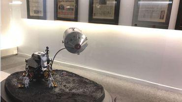 Exposition à Liège Guillemins : il y a 50 ans, la lune décrochait la une !