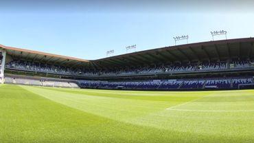 Le stade Constant Vanden Stock, à Anderlecht.