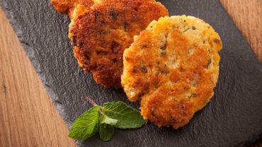 Steacks végétariens lentilles & pois chiche (super facile & rapide)