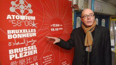 Henri Simons, le directeur de l'asbl Atomium