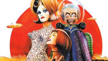 """""""Mars Attacks !"""" de Tim Burton s'inspire d'un jeu de cartes à échanger édité dans les années 60"""