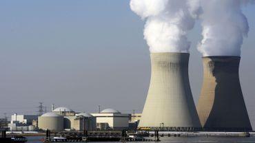 Le site nucléaire de Doel.