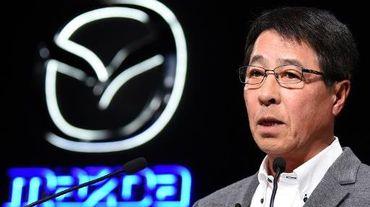 Masamichi Kogai, PDG de Mazda, le 20 mai 2015 à Tokyo