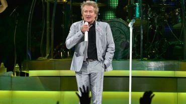 Rod Stewart en concert à Boston le 4 décembre 2013