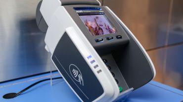 Un terminal de paiement par carte
