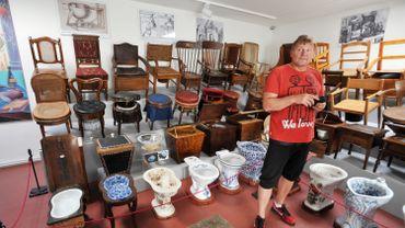 La collection installée à Prague au début de l'année est évaluée à 360.000 euros