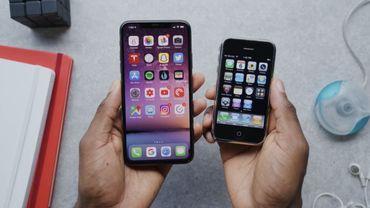 Un Youtubeur compare le nouvel iPhone 11 Pro avec le tout premier iPhone de 2007