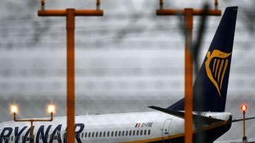 Grève chez Ryanair: 100% du personnel de cabine basé à Bruxelles sera en grève ce mercredi