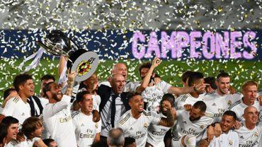 Le Real Madrid s'offre un 34e titre de champion d'Espagne en battant Villarreal, Hazard joue 62 minutes