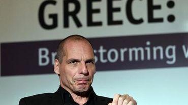 Le ministre grec des Finances Yanis Varoufakis, le 14 mai 2015 à Athènes