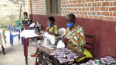 Coronavirus au Congo: des enfants-soldats se reconvertissent dans la fabrication de masques