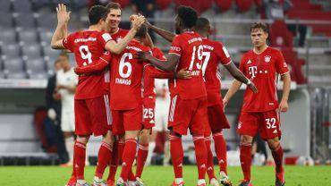 Les joueurs du Bayern