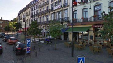 Le quartier de la gare de Mons