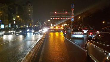 Le tunnel Léopold II de Bruxelles est fermé la Basilique, mais rouvert vers le midi
