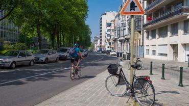 Avenue de la renaissance - Parc du Cinquantenaire à Bruxelles