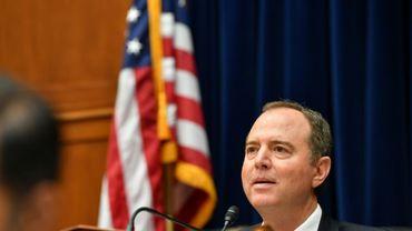 Le démocrate Adama Schiff, président de la commission du Renseignement à la Chambre des représentants, le 26 septembre 2019 au Congrès