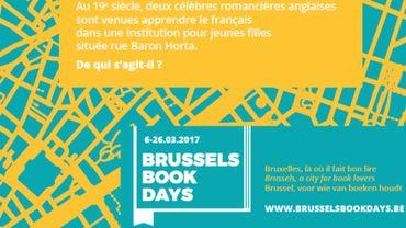 """La première édition des """"Brussels Book Days"""" se tiendra du 6 au 26 mars"""