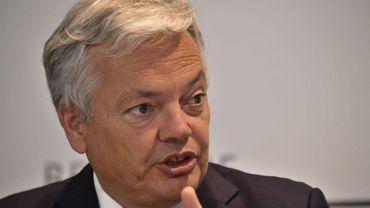 Qui va remplacer Didier Reynders à la présidence de la locale bruxelloisedu MR ?