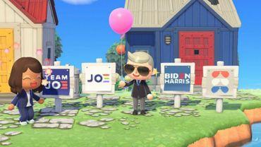 Pour gagner la course à la maison blanche, Joe Biden fait campagne sur Animal Crossing