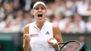 Wimbledon: Kerber bat facilement Ostapenko et file en finale deux ans après