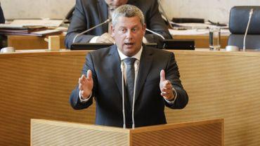 """Dimitri Fourny à propos des documents refusés par Publifin au parlement wallon: """"C'est vraiment du foutage de gueule""""."""