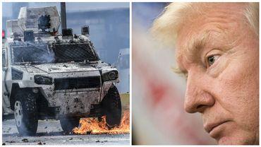 """Pour Trump, la crise au Venezuela est """"une honte pour l'humanité"""""""