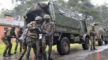 Des recrues paramilitaires maltraitées au cours de leur formation à Namur