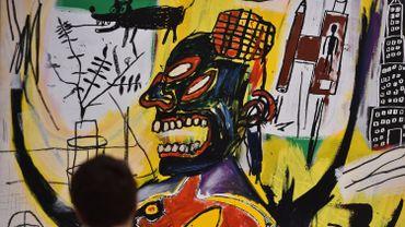 Une oeuvre de Jean-Michel Basquiat