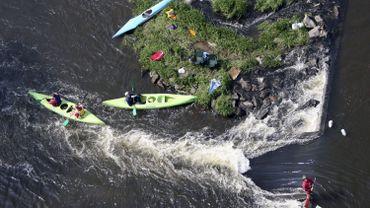 C'est la province de Luxembourg qui a vu le nombre de ses visiteurs sensiblement augmenter grâce aux activités comme le kayak.