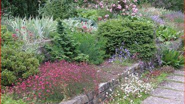 Un des jardins expérimentaux de Mien Ruys