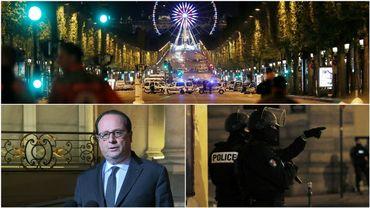 Un policier a été tué et deux autres grièvement blessés jeudi soir lors d'une fusillade sur la célèbre avenue des Champs-Elysées à Paris.L'auteur a quant à lui été abattu. Une touriste a également été légèrement touchée par des éclats.