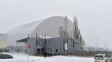 Le dôme de Tchernobyl est en place