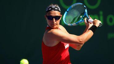 Kirsten Flipkens est éliminée du tournoi de Lugano.