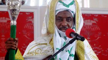 L'Emir nigérian de Kano, Muhammadu Sanosi II, démis de ses fonctions par le pouvoir politique, Kano, 7 février 2015