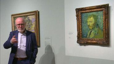 Un autoportrait de Van Gogh souffrant de psychose authentifié.