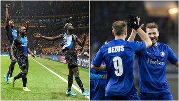 Deux clubs belges continueront en Europa League en 2020, comme en 2019 mais moins bien qu'en 2017