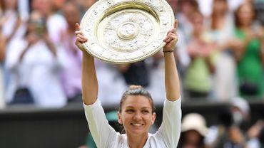 Halep 4e mondiale après sa victoire à Wimbledon, Elise Mertens 21e