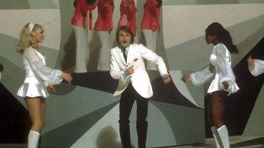 Claude Françoise et ses clodettes en 1970