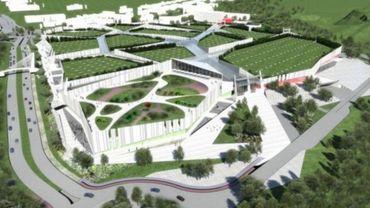 Le projet Cittaverde tel qu'il était prévu