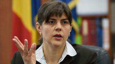 La cheffe du parquet anticorruption (DNA) Laura Codruta Kovesi, le 6 décemnre 2016 à Bucarest