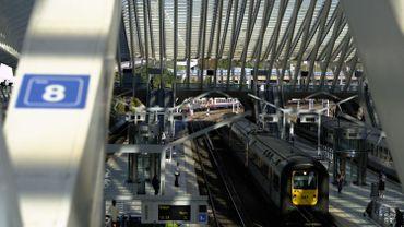 Trafic interrompu au départ de Liège-Guillemins vers Bruxelles