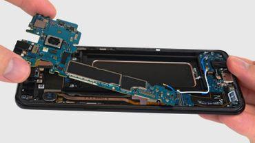 Réparation laborieuse pour le Galaxy S8