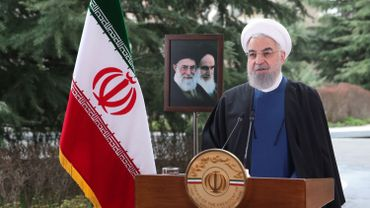 Hassan Rohani, président iranien.