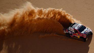 Le Qatari Nasser Al-Attiyah (Toyota) a remporté mercredi sa troisième victoire d'étape consécutivement sur le Dakar 2021, la plus longue de la 43e édition du célèbre rallye-raid entre Wadi Ad-Dawasir et Riyad en Arabie saoudite.