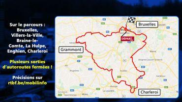 Tour de France : des perturbations aussi hors de Bruxelles