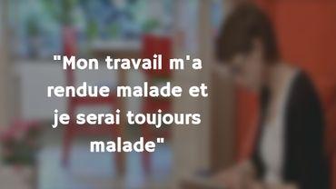 Valérie, agent d'orientation dans une asbl, a témoigné dans une enquête de Questions à la Une